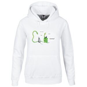 green tree python hoodie